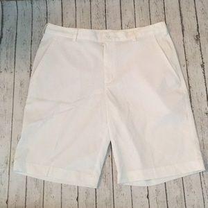 Nike Golf Men's White Dri-Fit Shorts